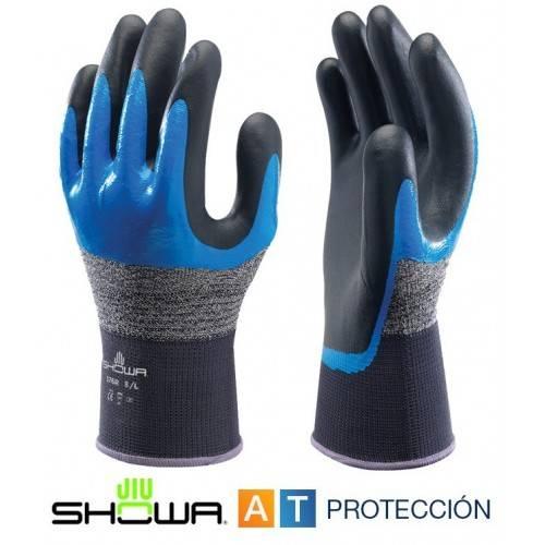Guantes Showa 376R nitrilo foam