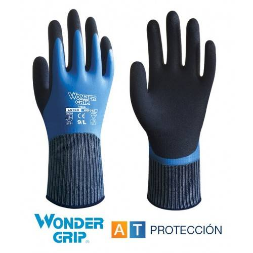 Guantes Wonder Grip Aqua