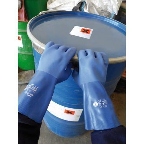 Guantes PVC triple baño 35 cms