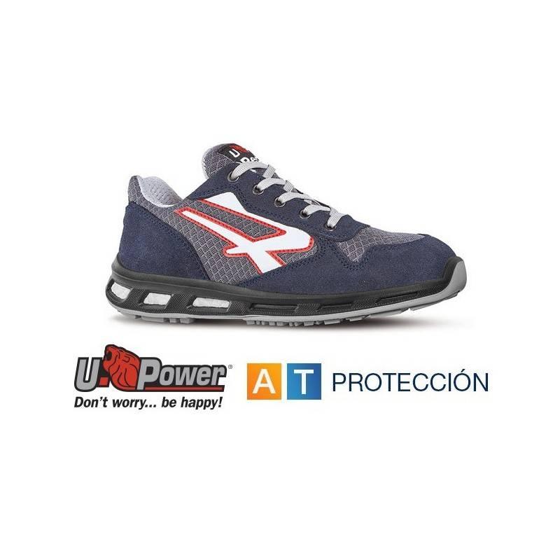 Zapatillas de Trabajo de Seguridad Talla 41 U Power Redlion Going S1P