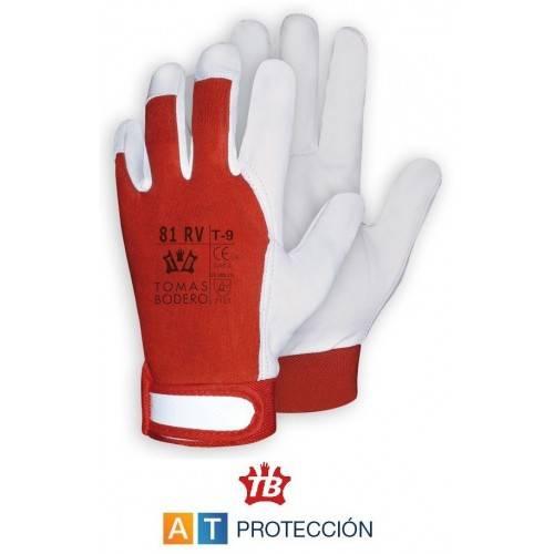 Par guantes piel-algodón Tomas Bodero 81 RV