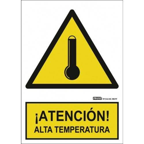 ¡ATENCIÓN! ALTA TEMPERATURA A4 Y A3