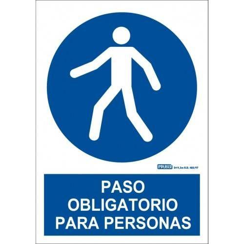PASO OBLIGATORIO PARA PERSONAS A4 Y A3