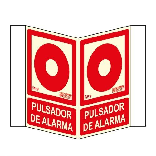 SEÑALES TIPO PANORÁMICO PULSADOR DE ALARMA A4 Y A3