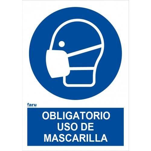 ES OBLIGATORIO EL USO DE MASCARILLA A4 Y A3