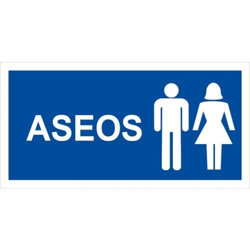 ASEOS (imagen señor/señora 15 x 30 cm)