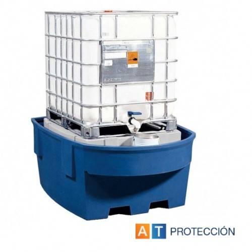 Cubeto colector con soporte