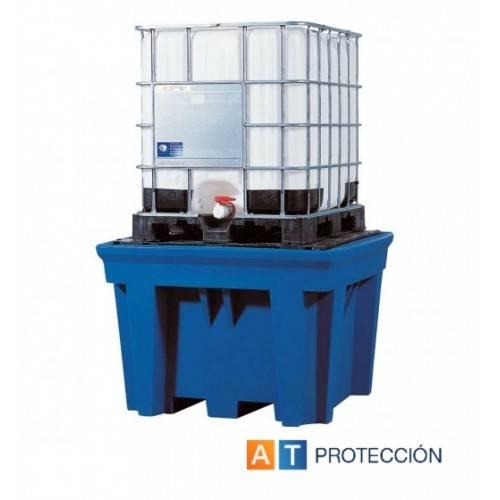 Cubeto colector para un KTC/IBC