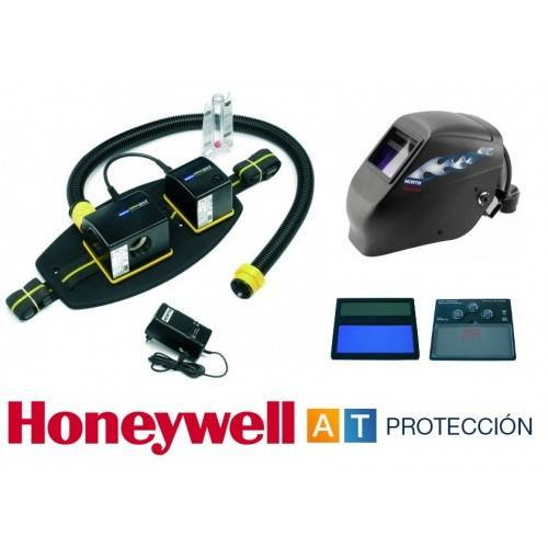 Conjunto para soldar Honeywell Compact Air TigerHood