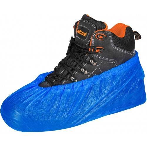Pack 100 cubrezapatos desechables PVC