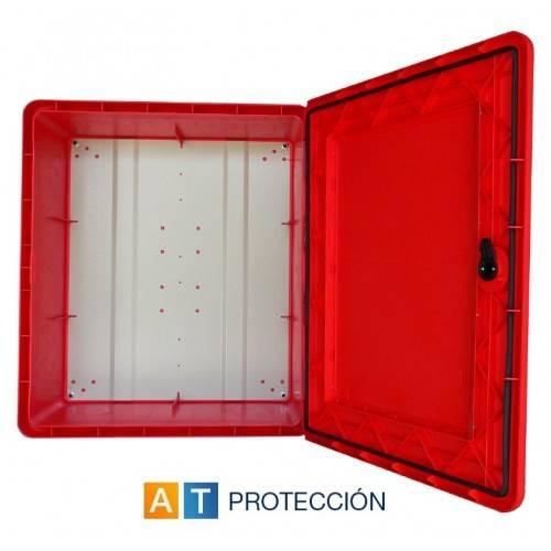 Armario BIE 25 PVC puerta visor transparente
