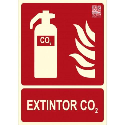 SEÑAL EXTINTON CO2 A4