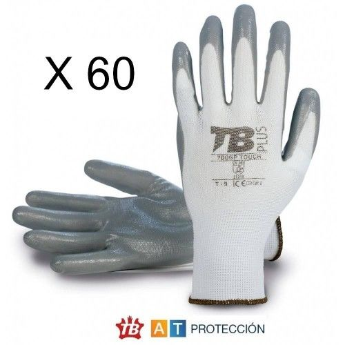 Pack 60 pares guantes nitrilo 700GPTOUCH