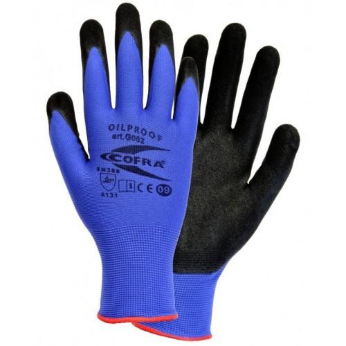 Par guantes Cofra Oil Proof Talla 7 OUTLET