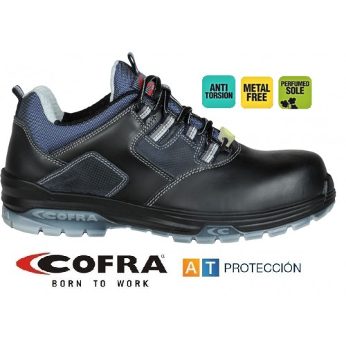 Zapatos Cofra Rap Black S3