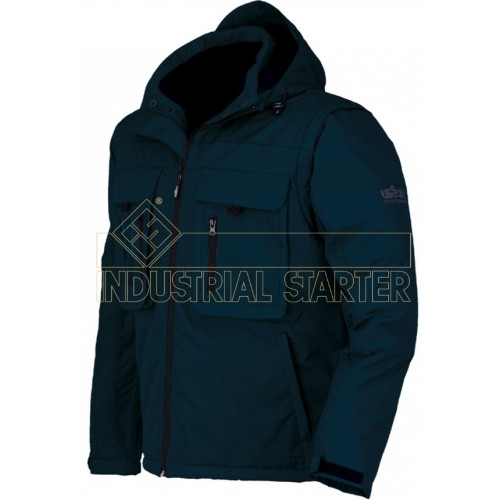 Parka impermeable acolchada Hunter