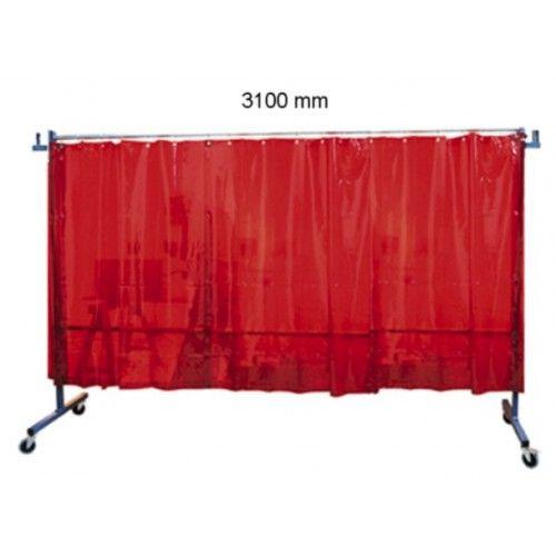 Biombo protección con cortinas TRANSFLEX 3100