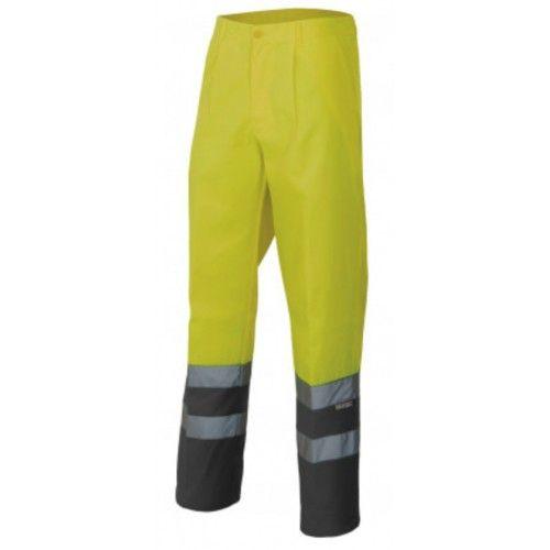 Pantalón alta visibilidad Velilla 158 amarillo-gris OUTLET