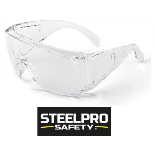 Gafas SteelPro Safety VISITOR Transparentes