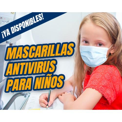 Pack 10 Mascarilla para niños - Reutilizable y Lavable