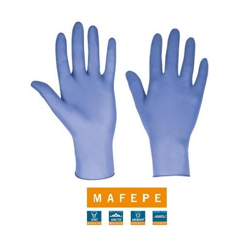 Guantes de nitrilo Mafepe 100 unid.