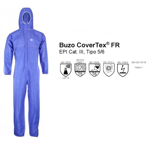 Buzo Antivirus Azul Asatex CAT III