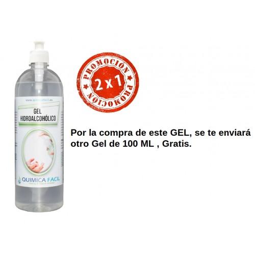 Gel desinfectante manos HIDROALCOHOLICO 1000 ml