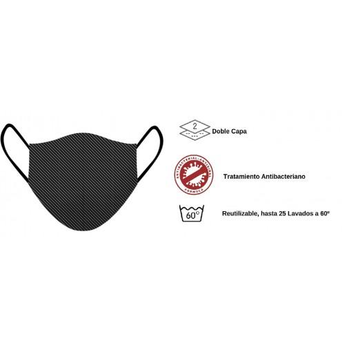Mascarilla de tela - Reutilizable