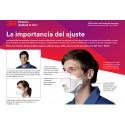 Pack 10 mascarillas Antivirus 3M 9330 FFP3