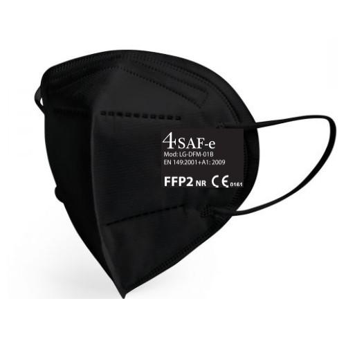 Mascarillas FFP2 Negras - Caja de 20 unidades