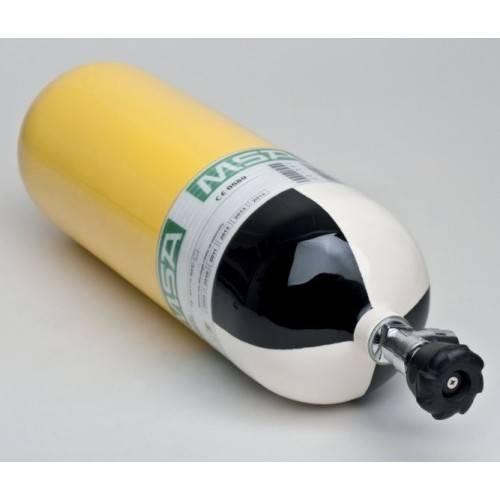 Botella equipo respiración acero 6 lts. MSA