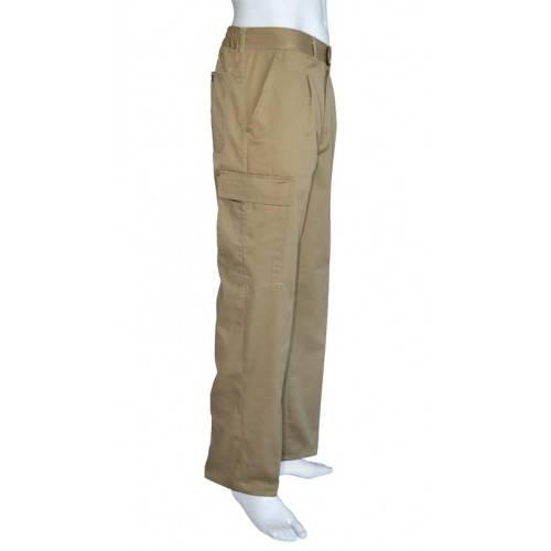 Pantalón multibolsillos algodon