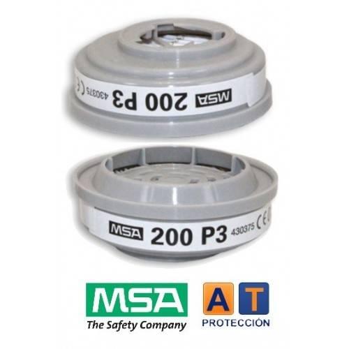 Par filtros MSA Advantage P3-R