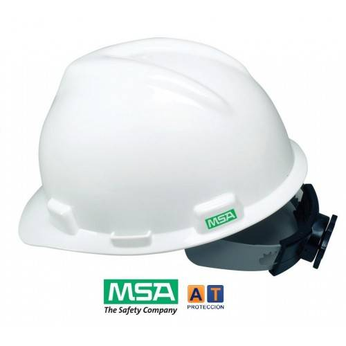 Casco MSA V-Gard Fas Trac ruleta