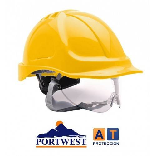 Casco Portwest PW55 Endurance con visor